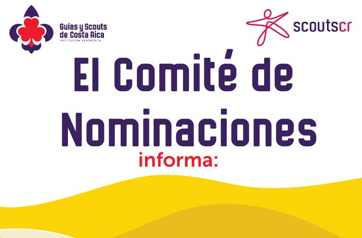 Comité de Nominaciones informa: