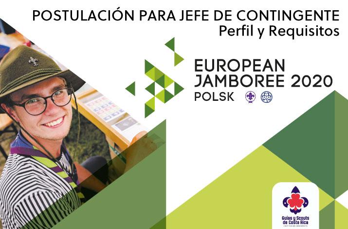 Jefe de Contingente Jamboree Europeo Polonia 2020
