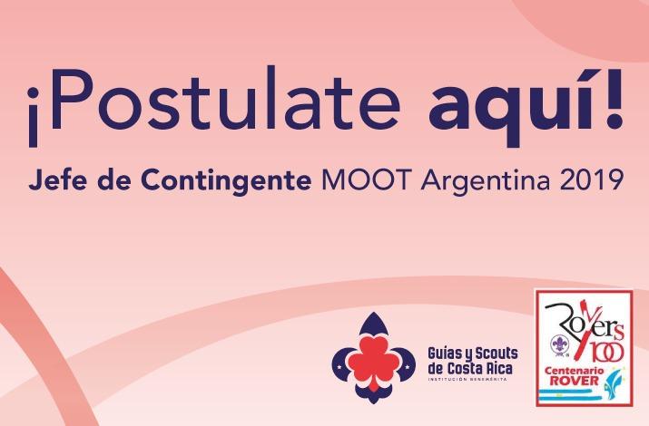 JEFE DE CONTINGENTE VI MOOT NACIONAL ARGENTINA 2019