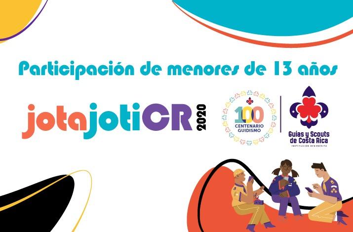 Participación de menores de 13 años de Jota Joti 2020