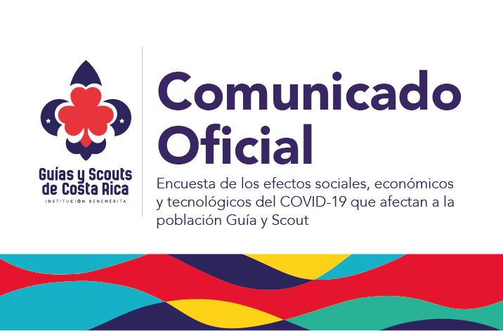 Encuesta de los efectos sociales, económicos y tecnológicos del COVID-19 que afectan a la población Guía y Scout