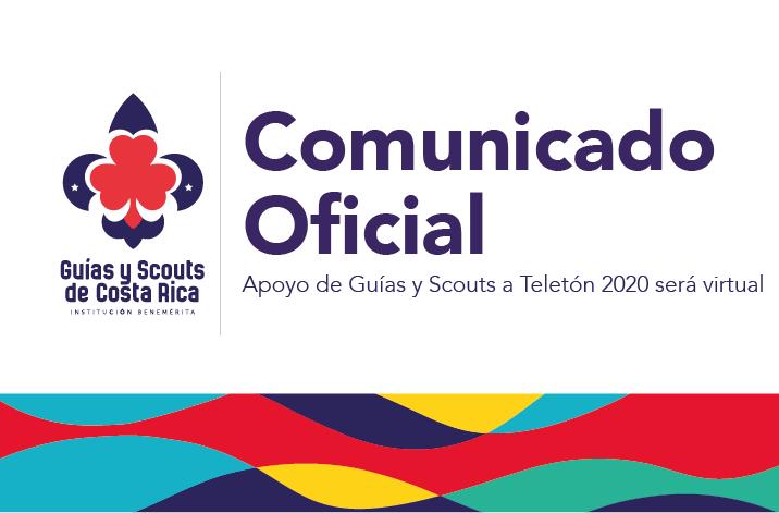 Apoyo de Guías y Scouts a Teletón 2020 será virtual