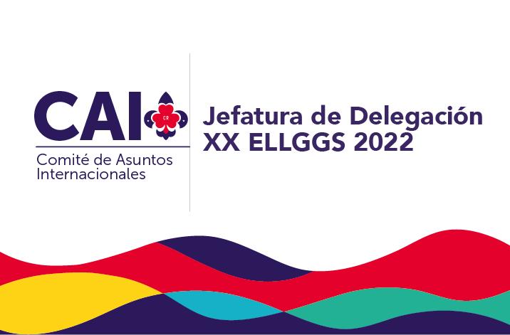 JEFATURA DE CONTINGENTE XX ENCUENTRO DE LÍDERES GUÍAS Y GUÍAS SCOUT 2022.